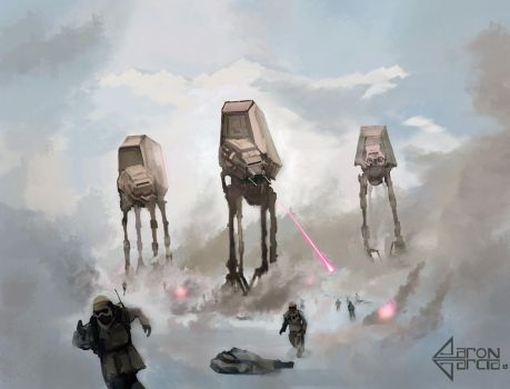 Where's Waldo: Star Wars/Battle of Hoth edition by AaronGarcia