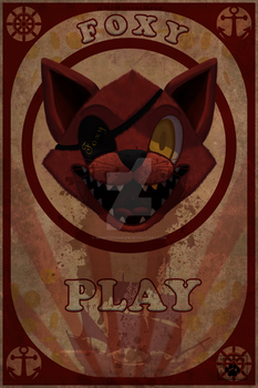 Foxy Poster by MrMittensMeow