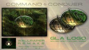 GLA Wallpaper and Logo by Dexistor371