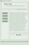 JRNL Skin - Free Template 2 by firstfear