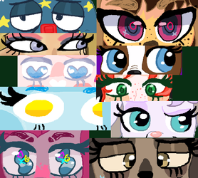 Eyes mEME by cottoncloudyfilly
