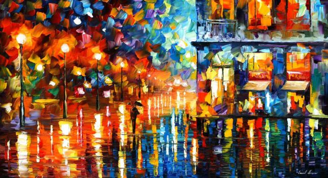 Melody From The Sky by Leonid Afremov by Leonidafremov