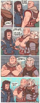 WITCHER 3: BURNNNNN by cherrysplice
