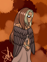 164 Noctowl (Human) by SpokenMind93