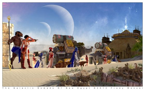 The Galactic Nomads by Fredy3D