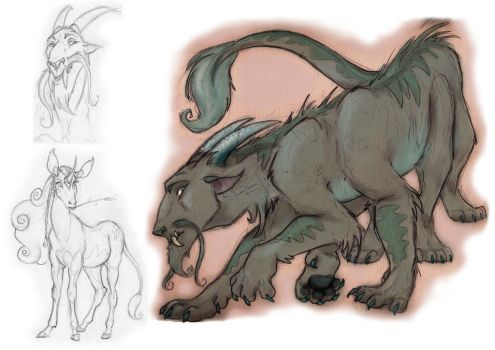 Kirre and other sketches by sarahhorner