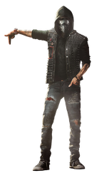 Watch Dogs 2 Wrench render 2 (wallpaper 1) by Digital-Zky