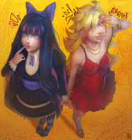 Anarchy Sisters by Moustachi