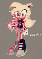 Chronica The Hedgehog NEW REDESIGN by QuiickyFoxy