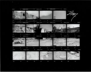 contact sheet experiment by astromechanica
