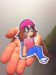 Meg Griffin (paper child) by GustavoCardozo97