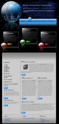 Blue Business Template by Solemnity111