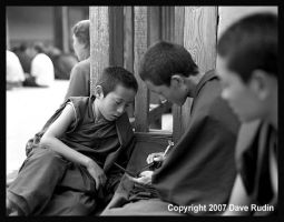 Young Monks, Tibet, 2007 by DaveR99