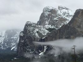 The Cloud Finger (Yosemite) by Yosemite-Stories
