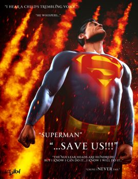 SUPERMAN-Alex Ross inspiration by ISIKOL