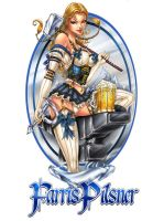 Beer Label Colored by jamietyndall