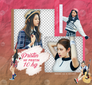 PRISTIN PNG PACK #1 by UpWishColorssx