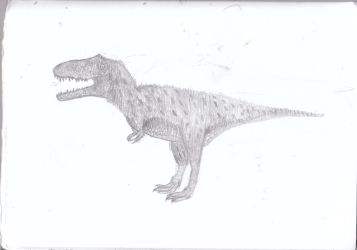 Gorgosaurus for The Age of Reptiles by Evenape