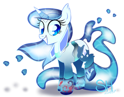 Water pony by The-Omega-Square