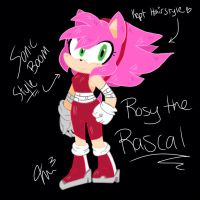 Rosy the rascal (sonic boom style) by RichHoboM3