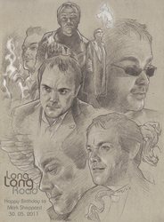 HappyBirthday for MarkSheppard by TrixieRyuu
