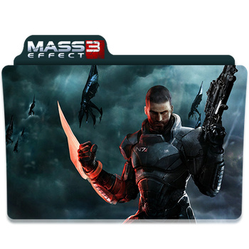 Mass Effect 3 Folder/Icon by Lezya