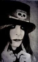 Mick Mars Smile by aerokay