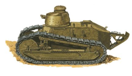 French Ft-17 tank by JozsefSvab