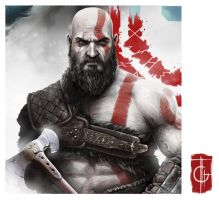 Kratos by thegameworld