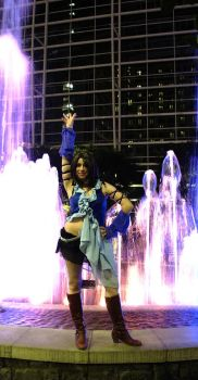 Katsucon 2011: Songstress Yuna by JacquelineChroma