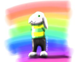 Asriel by kittygirlxjanax