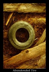 Abandonded Tire by environment