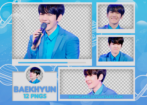 [PNG PACK #496] Baekhyun - EXO (Lotte World) by ByunCamis