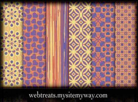 Free Seamless Fiesta Patterns by WebTreatsETC