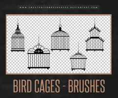 Bird Cages | Brushes by sweetpoisonresources