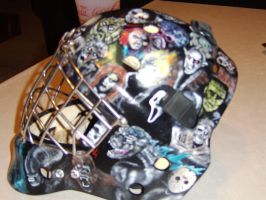 My goalie helmet 2 by tlmolly86