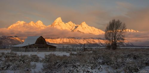 Teton Dawn by TerribleTer