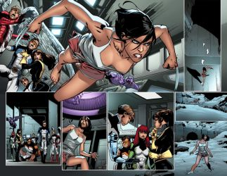 All New X-Men 20 Pages 3-4 by MahmudAsrar