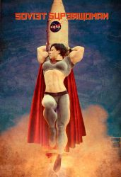 Soviet Superwoman by areaorion