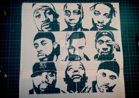 Wu tang stencil by justbelikeshadow