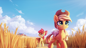 Fields by INowISeeI