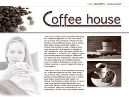 Sitedesign Coffehouse by VectoriusTanne