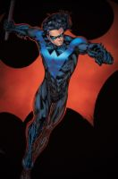 Nightwing - Eagle Gosselin colors by SpiderGuile