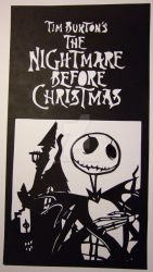 Nightmare Before Christmas 1 by fenrirsilverback