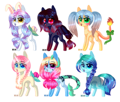 [CLOSED] Pony Adopts auction: Points by LunnaDeLuna