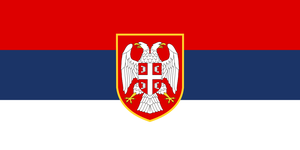 Flag Serbia - state, alternate history large by YamaLama1986