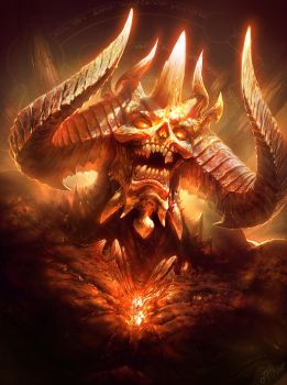 Diablo (Colored version) by TamplierPainter