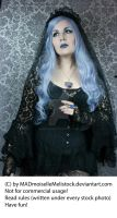 Lavender Goth Stock 001 by MADmoiselleMeliStock