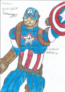 Captain America by Evil-Black-Sparx-77