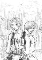 Vaan and Reks by Autumn-Sacura